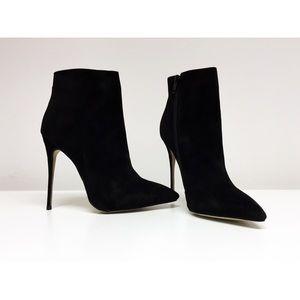 PUBLIC DESIRE  •  Eva Suede Ankle Bootie